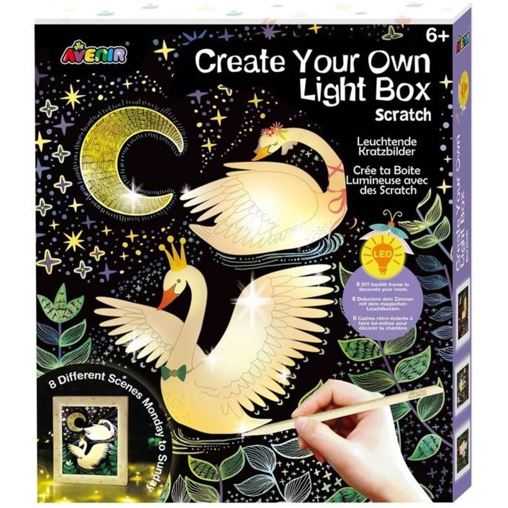 DAM, LLC CREATE YOUR OWN LIGHT BOX SCRATCH