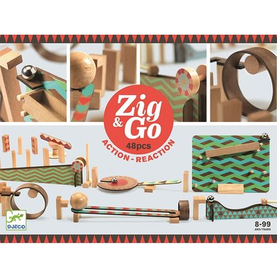 ZIG & GO ZIG & GO BIG BOUM WALL 48 PCS