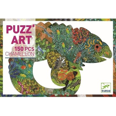 DJECO CHAMELEON PUZZLE 150 PIECE