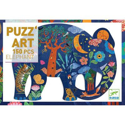DJECO ELEPHANT PUZZLE 150 PIECE
