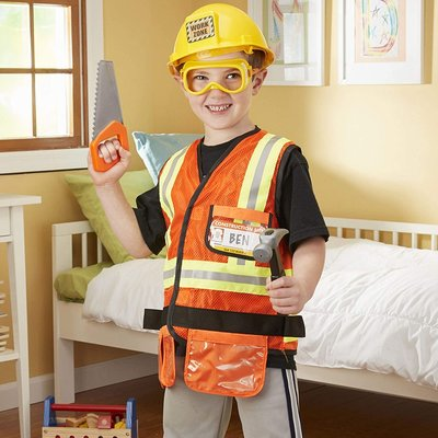 MELISSA AND DOUG CONSTRUCTION WORKER ROLE PLAY