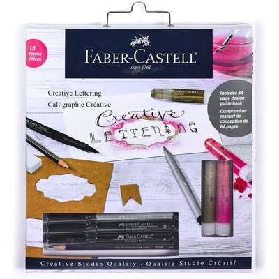 FABER CASTELL CREATIVE LETTERING CALLIGRAPHY