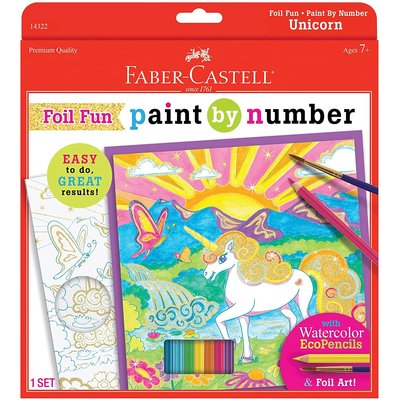 FABER CASTELL PAINT BY NUMBER