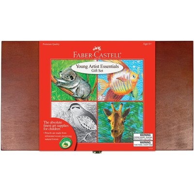 FABER CASTELL YOUNG ARTIST ESSENTIALS GIFT SET