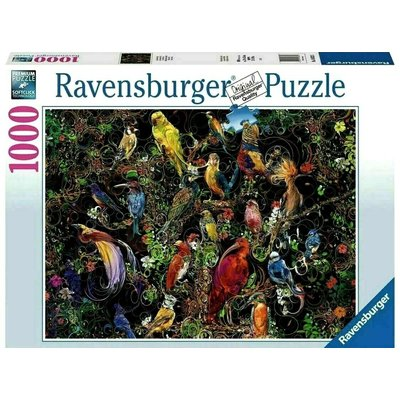 RAVENSBURGER USA BIRDS OF ART 1000 PIECE PUZZLE