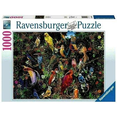 RAVENSBURGER USA BIRDS OF ART 1000 PIECE PUZZLE