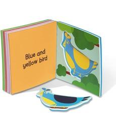 MELISSA AND DOUG SOFT SHAPES BATH BOOK*