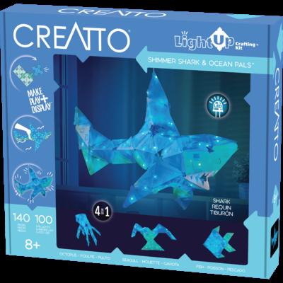 CREATTO CREATTO SHIMMER SHARK & OCEAN PALS