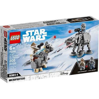 LEGO AT-AT VS TAUNTAUN MICROFIGHTERS