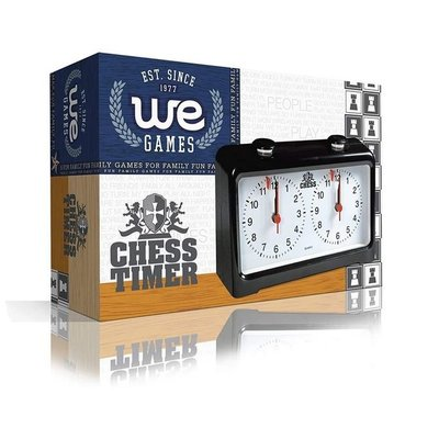 WOOD EXPRESSIONS ANALOG CHESS CLOCK