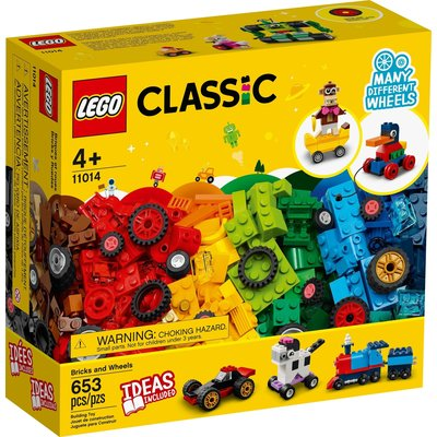 LEGO BRICKS AND WHEELS