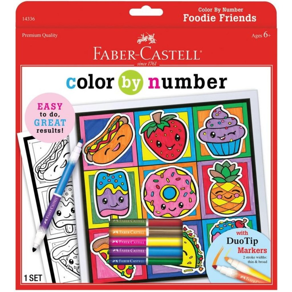 FABER CASTELL COLOR BY NUMBER