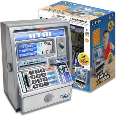 DR. STEM TOYS TALKING ATM