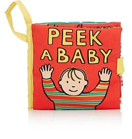 JELLY CAT PEEK A BABY BOOK