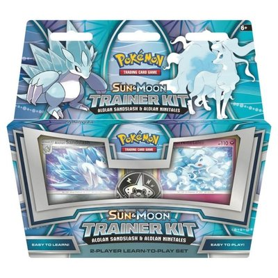 POKEMON INTERNATIONAL POKEMON TCG: SUN & MOON TRAINER KIT — ALOLAN SANDSLASH & ALOLAN NINETAILS
