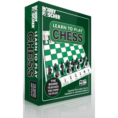WOOD EXPRESSIONS BOBBY FISCHER LEARN CHESS