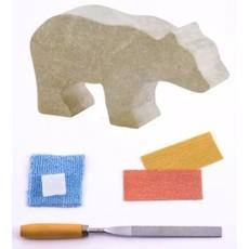 STUDIOSTONE CREATIVE SOAPSTONE CARVING KIT