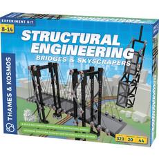 THAMES & KOSMOS STRUCTURAL ENGINEERING BRIDGES & SKYSCRAPERS