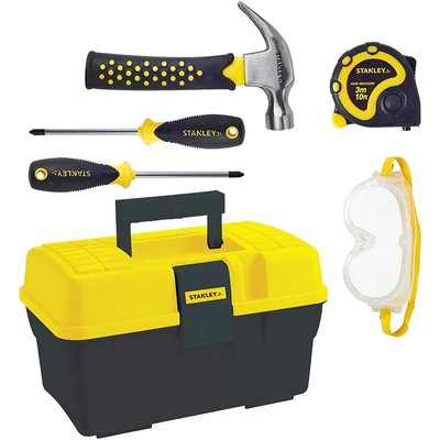 5 PIECE TOOLSET & TOOLBOX