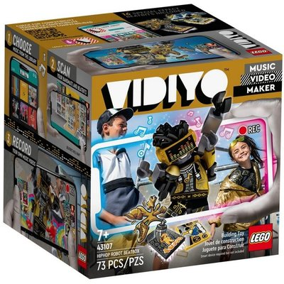LEGO HIPHOP ROBOT BEATBOX