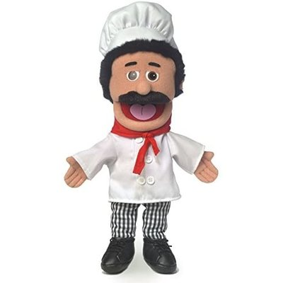 SILLY PUPPETS CHEF LUIGI PUPPET