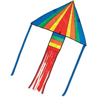 MELISSA AND DOUG RAINBOW ROCKET DELTA KITE