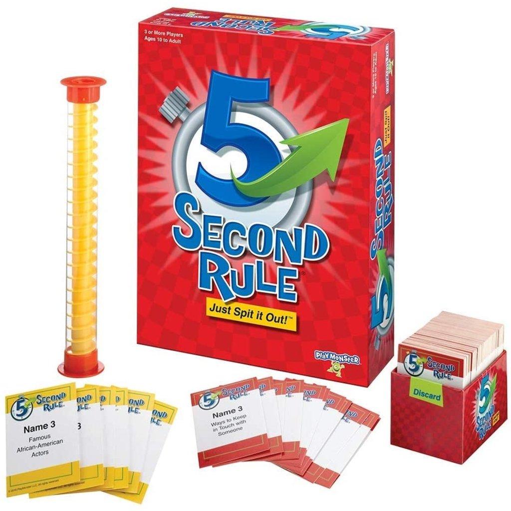 PLAYMONSTER 5 SECOND RULE