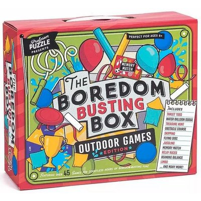 PROFESSOR PUZZLE THE BOREDOM BUSTING BOX OUTDOOR GAMES