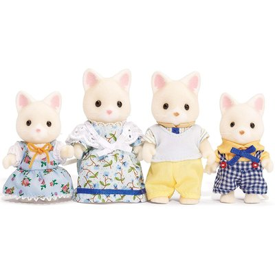 CALICO CRITTERS SILK CAT FAMILY CALICO CRITTERS