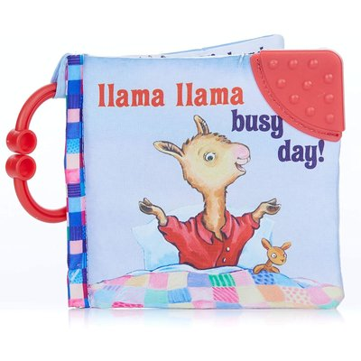 KIDS PREFERRED LLAMA LLAMA BUSY DAY CLOTH BOOK