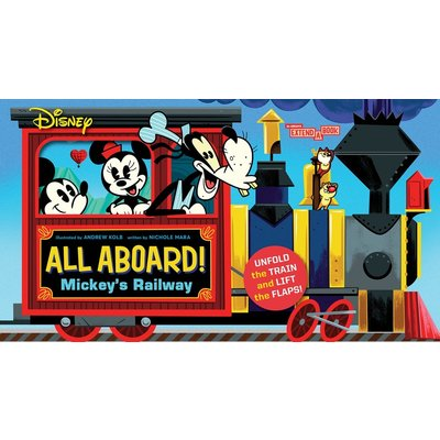 ABRAMS APPLESEED DISNEY ALL ABOARD! MICKEY'S RAILWAY