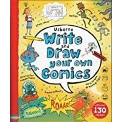 EDC PUBLISHING WRITE AND DRAW YOUR OWN COMICS