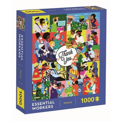 CHRONICLE PUBLISHING ESSENTIAL WORKERS PUZZLE 1000 PC