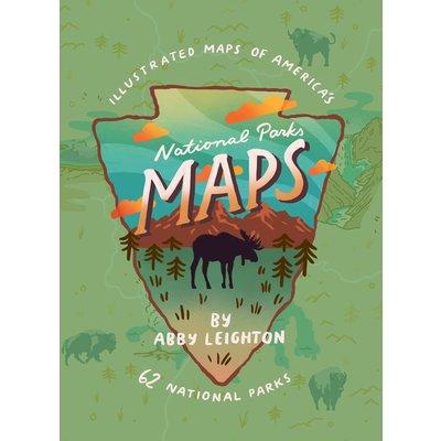 GIBBS SMITH NATIONAL PARKS MAPS