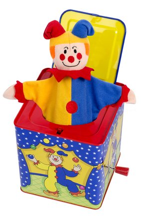 JESTER JACK IN THE BOX THE TOY STORE