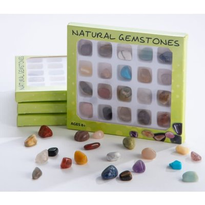GEO CENTRAL NATURAL GEMSTONES COLLECTION BOX