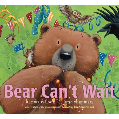 MARGARET K MCELDERRY BOOKS BEAR CAN'T WAIT HB WILSON