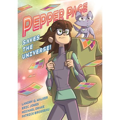 FIRST SECOND PEPPER PAGE SAVES THE UNIVERSE!