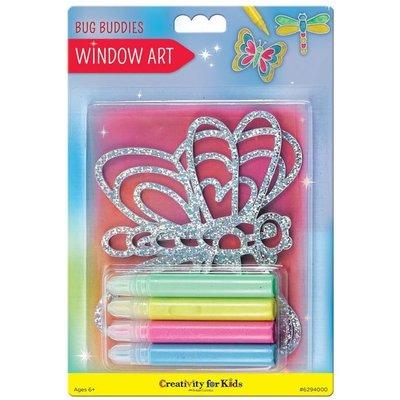 CREATIVITY FOR KIDS WINDOW ART