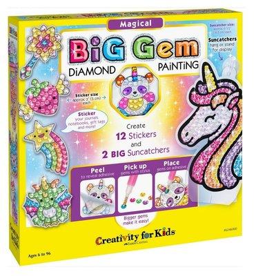 CREATIVITY FOR KIDS BIG GEM DIAMOND PAINTING - MAGICAL