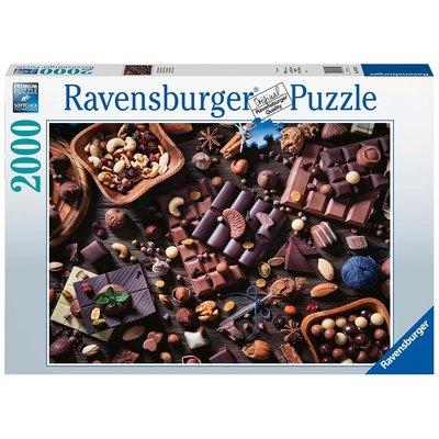 RAVENSBURGER USA CHOCOLATE PARADISE 2000 PIECE PUZZLE