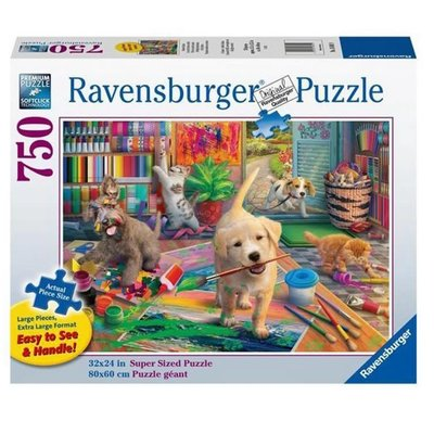 RAVENSBURGER USA CUTE CRAFTERS 750 PIECE PUZZLE
