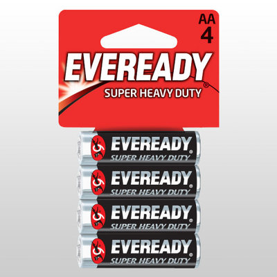 BATTERIES INCLUDED SUPER HEAVY DUTY BATTERIES