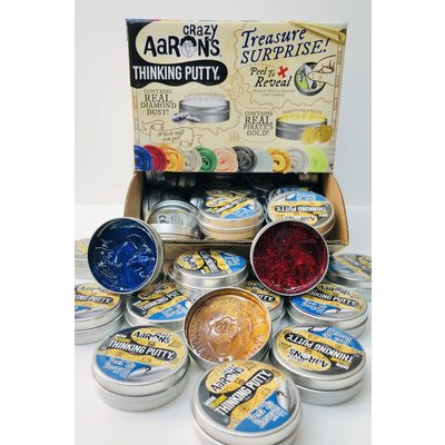 CRAZY AARONS PUTTY MINI TREASURE SURPRISE THINKING PUTTY