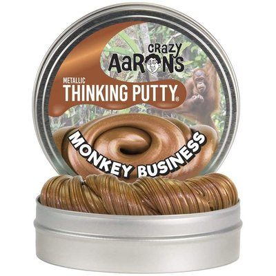 CRAZY AARONS PUTTY METALLIC THINKING PUTTY MONKEY BUSINESS