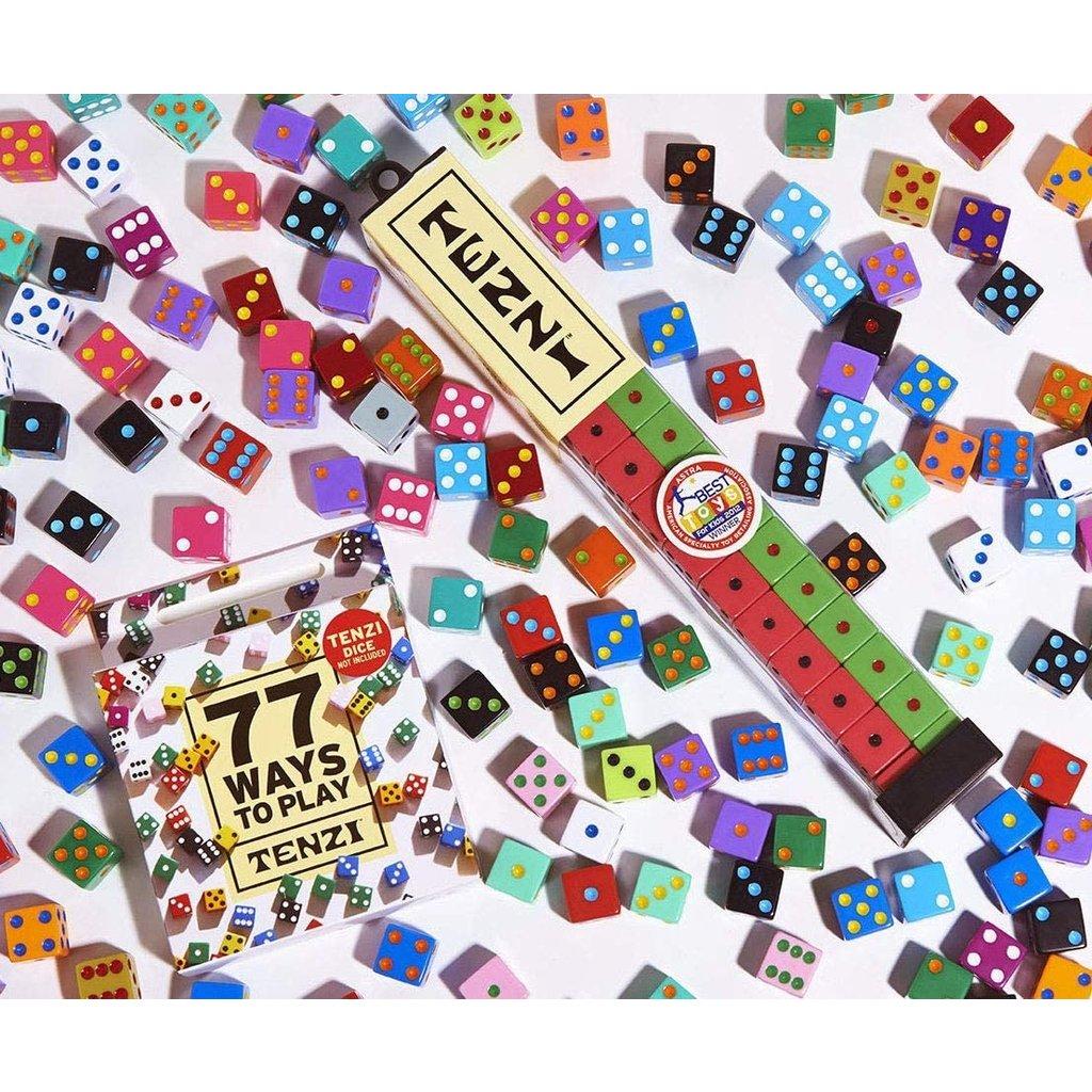 CARMA GAMES 77 WAYS TO PLAY TENZI CARDS