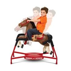 RADIO FLYER BLAZE INTERACTIVE SPRING RIDING HORSE