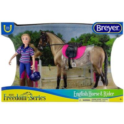 BREYER HORSE & RIDER SET