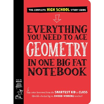 WORKMAN PUBLISHING EVERYTHING YOU NEED TO ACE GEOMETRY IN ONE BIG FAT NOTEBOOK