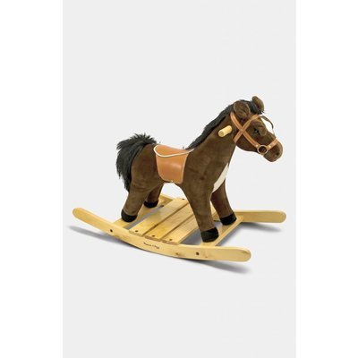 MELISSA AND DOUG ROCK AND TROT PLUSH ROCKING HORSE M & D*